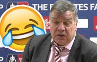 BIG FAT SAM SACKED BY ENGLAND