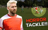 Shocking Horror Tackle ? | Sunday League Messi