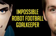 IMPOSSIBLE ROBOT FOOTBALL GOALKEEPER