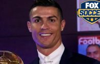 Cristiano Ronaldo wins 2016 Ballon d'Or