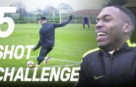 5 Shot Challenge with Daniel Sturridge! ft. Poet & Timbsy