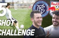 New York City FC vs New York Red Bulls | 5 Shot Challenge