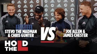 JD FOOTBALL | Joe Allen and James Chester Vs Chris Gunter and Stevo The Madman – Hold The L