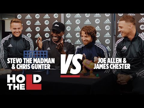 JD SPORTS FOOTBALL | Joe Allen and James Chester Vs Chris Gunter and Stevo The Madman – Hold The L
