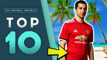 THE FOOTBALL REPUBLIC | TOP 10 Football Holiday NIGHTMARES! | Henrikh Mkhitaryan's Belly, Terrible Tattoos and Sex Tapes!