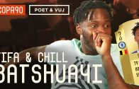 COPA 90   Exclusive: Batshuayi Reacts to his FIFA 18 Rating   FIFA and Chill ft. Poet and Vuj