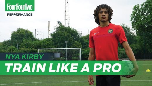 FFT | Crystal Palace wonderkid Nya Kirby | 1 v 1 and finishing session | Train like a Pro