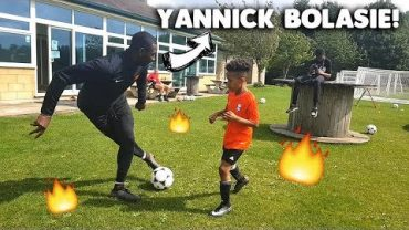 How to be a Pro!! | Tekkerz Kid ft Yannick Bolasie – EVERTON!!